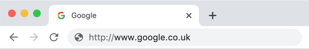 Google - Non secure without SSL