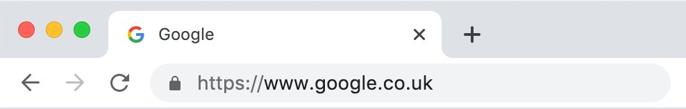 Google - Secure with SSL